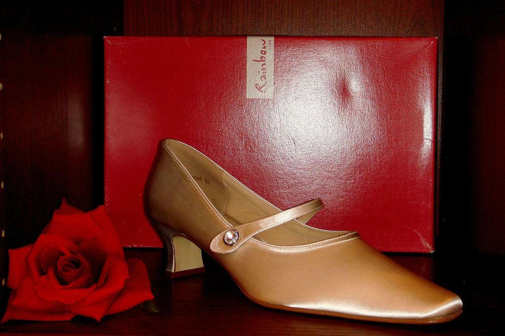 Beispiel: Wunderschöne Brautschuhe, Foto: Der Brautladen Schuhe.