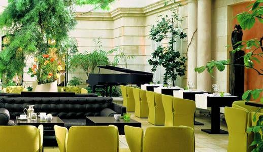 Beispiel: Innenhof, Foto: Domero Hotel Brandenburger Hof.