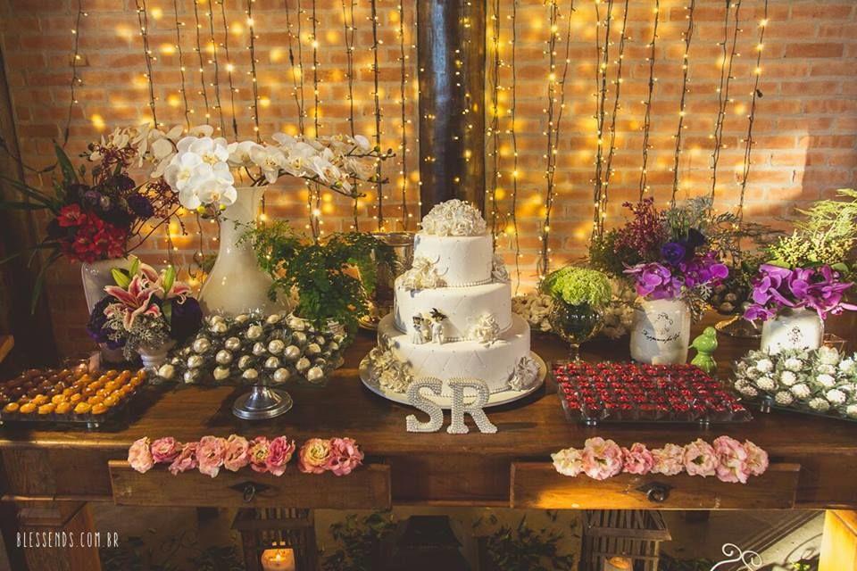 Mesa de doces Foto: Blessends Foto e Video