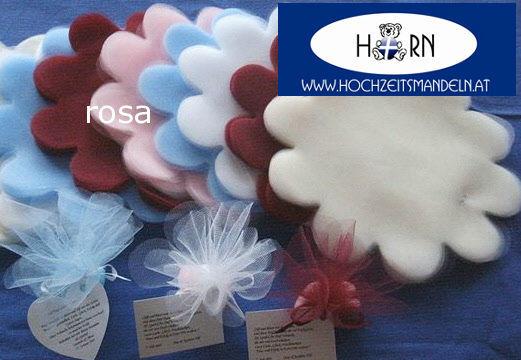Beispiel: Verschiedene Verpackungen, Foto: Horn Hochzeitsmandeln.
