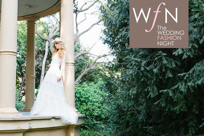 Imagenes de promoción de la WEDDING FASHION NIGHT de BARCELONA 2015