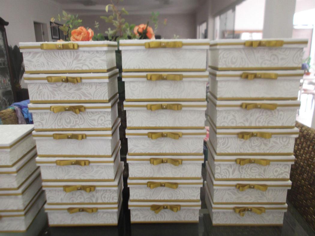 caixas de renda que foram enviadas para Salvador BA.