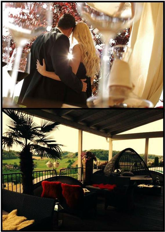 Beispiel: Als Brautpaar im Hotel, Foto: Maiers Kuschelhotel Loipersdorf Deluxe.