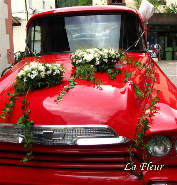 Beispiel: Autodekoration, Foto: La Fleur.