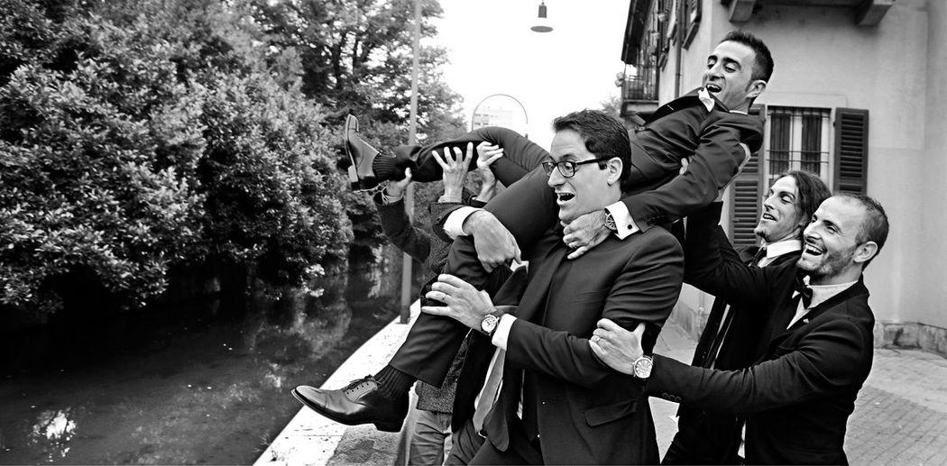 Milano. Festeggiamenti alla Casa dei Ciliegi