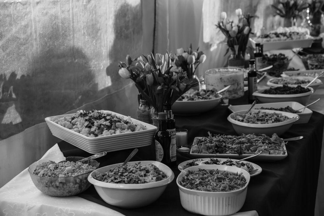 Matrimonio en el sur de Chile - comida alemana
