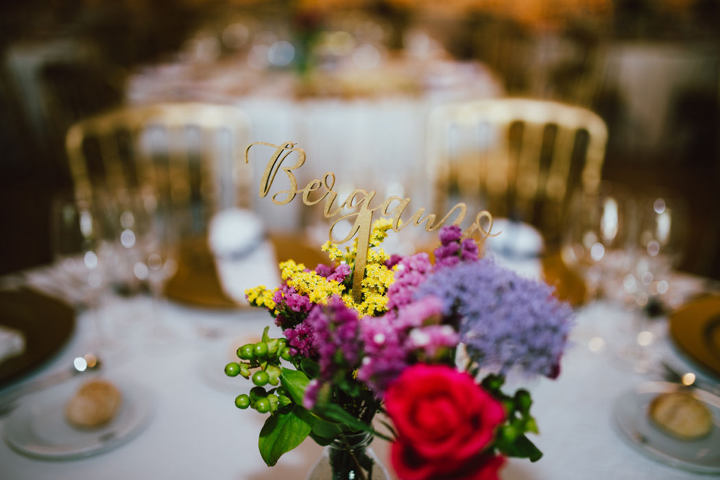 Guest table identifiers and decoration
