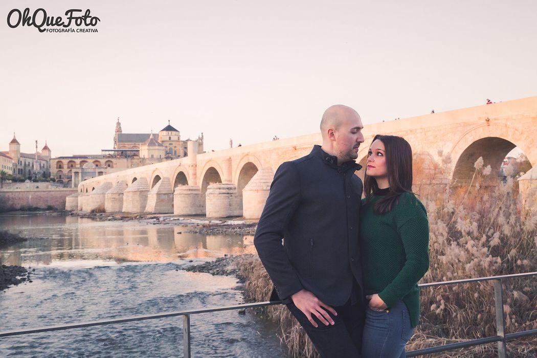 Preboda Inma y Juan Carlos en Puente Romano de Córdoba