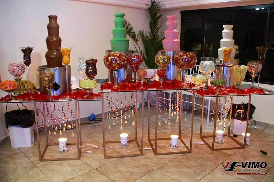 Fantástica Cascata de Chocolate