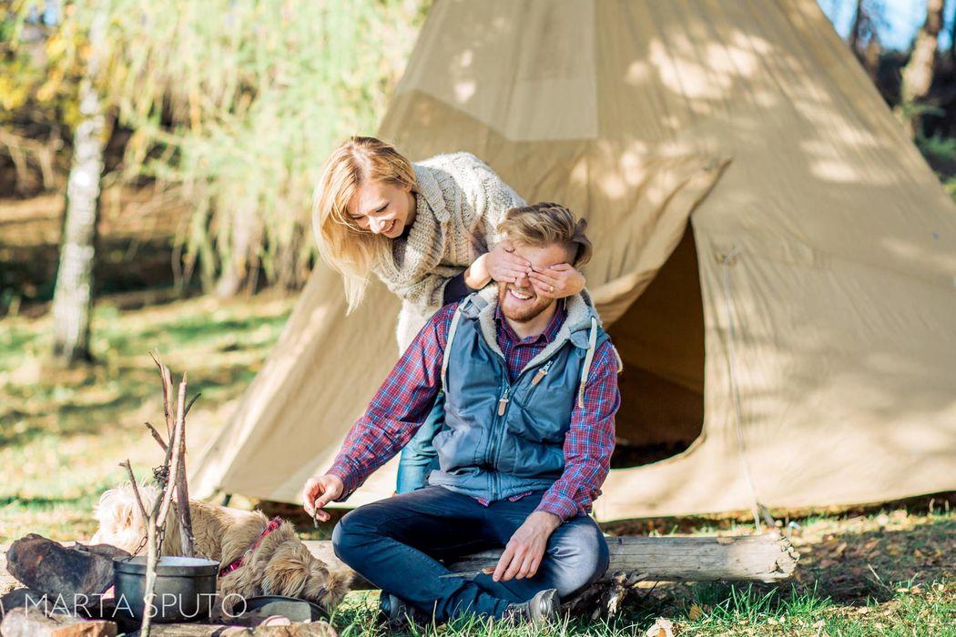 Ania i Maciek | Sesja narzeczeńska