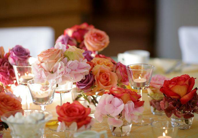 Hochzeitsdekoration in jedem Stil, Vintage, Sommerlich, Grün, puristisch u.v.m., Foto: Weddinghelfer.