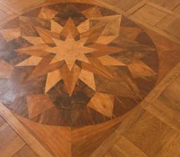 Beispiel: Fußboden, Foto: Villa Eugenia.