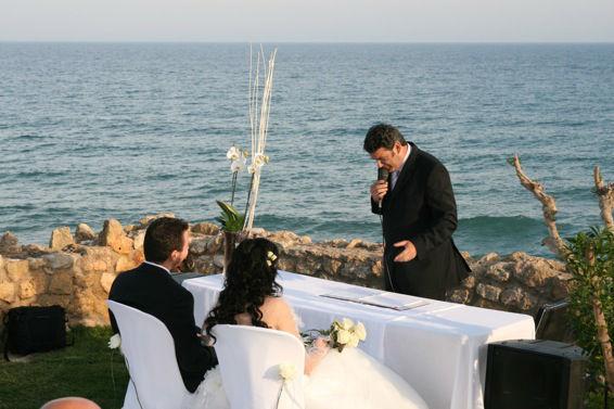 Maestro de ceremonias bodas románticas