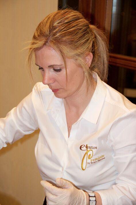 Servicio personalizado de catering chocolate