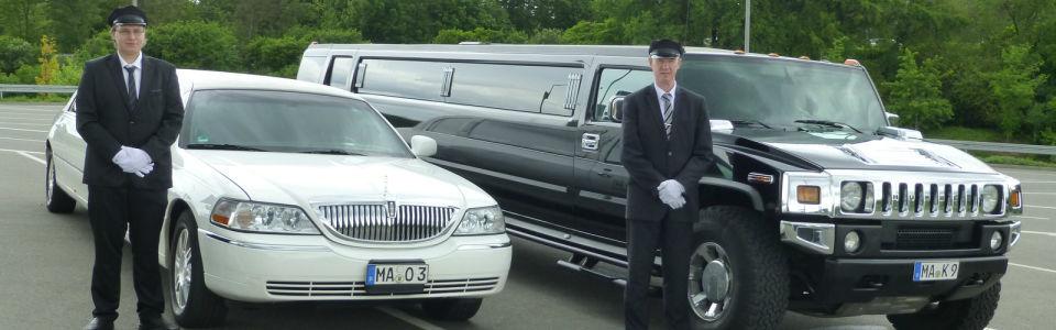 Beispiel: Limousine mit Chauffeur-Service, Foto: Limo-Day Mannheim.