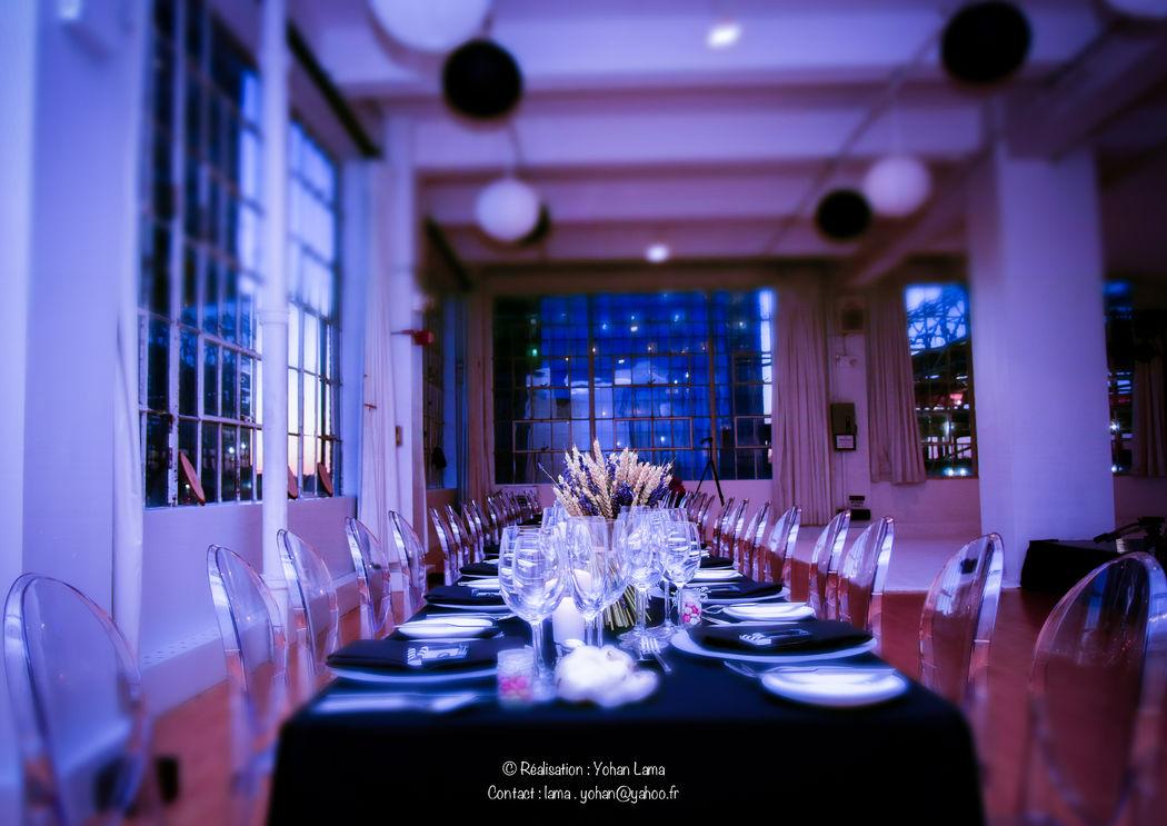 Mariage de Nazia & Frédéric, organisé dans un loft à Broadway, USA Crédit Yohan Lama