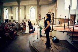 Beispiel: Hochzeitsgesang, Foto: Kathrin Horstkötter.