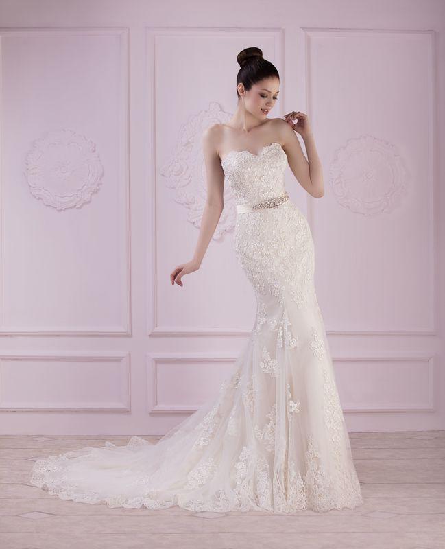 INGE ivoire ou blanc - collection Un jour, une mariée