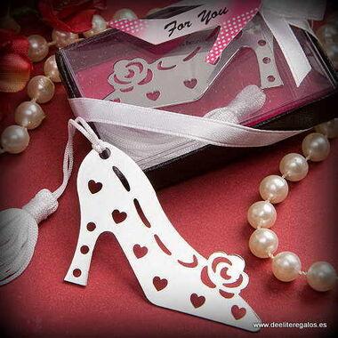 Punto libro zapato de tacón, ideal para una boda muy chic