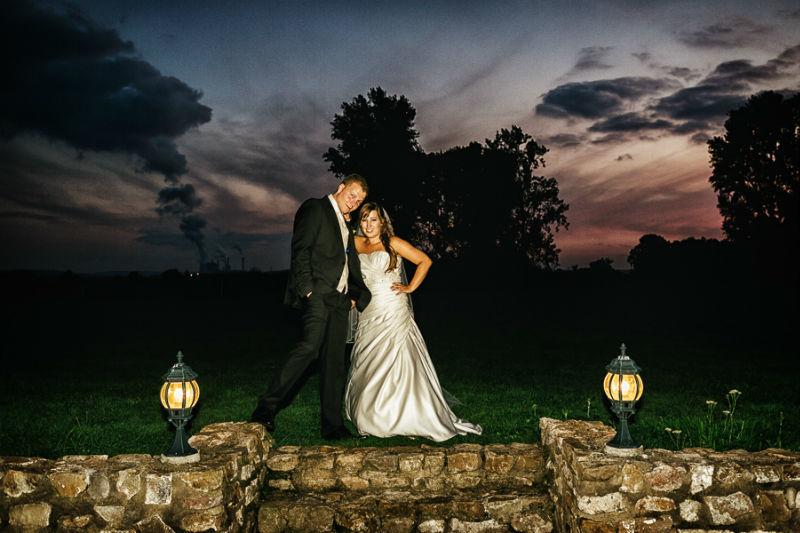 Beispiel: Portrait des Brautpaares, Foto: Chris Yeo Photography.