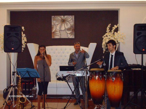 Francesco Vurchio Dj & Live Band live at L'oasi di Claire