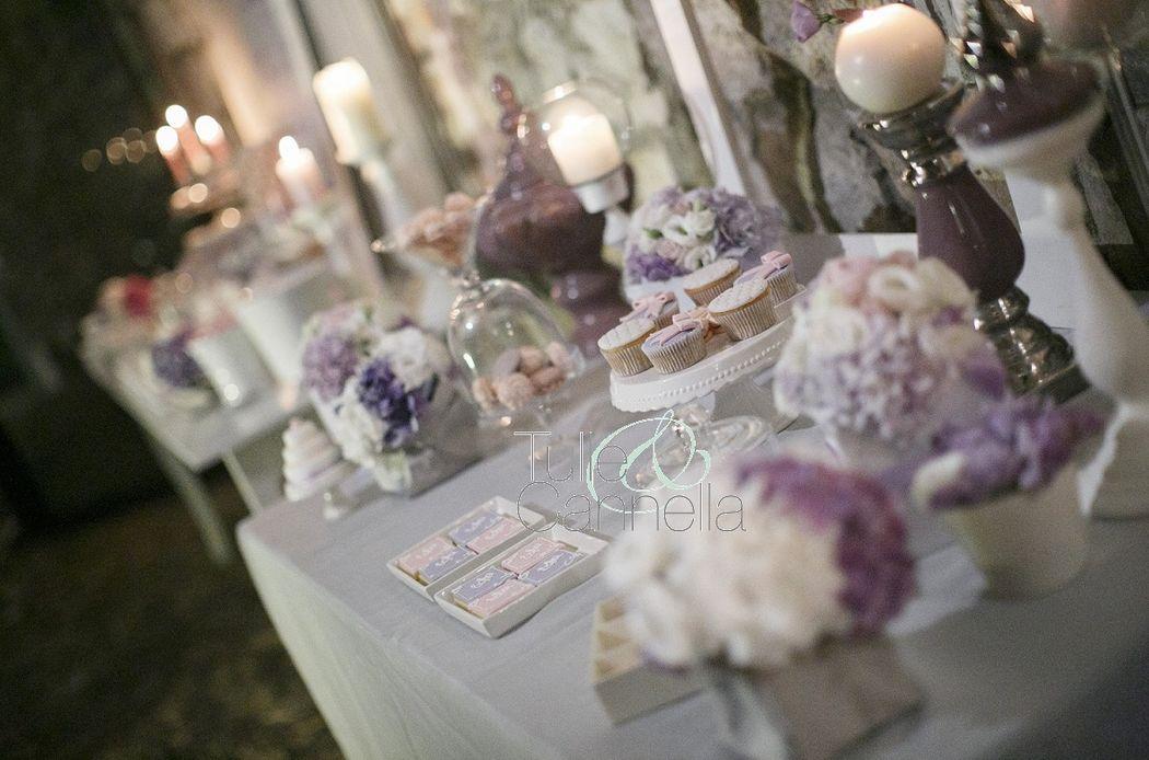 Confettata romantica - Sweet table - Matrimonio Napoli