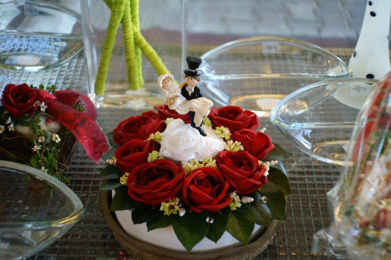 Beispiel: Hochzeitsfloristik, Foto: RADLOFF Blumenhaus & Gärtnerei.