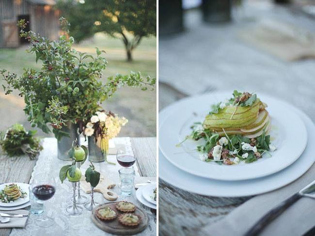 El menú y la decoración perfecta