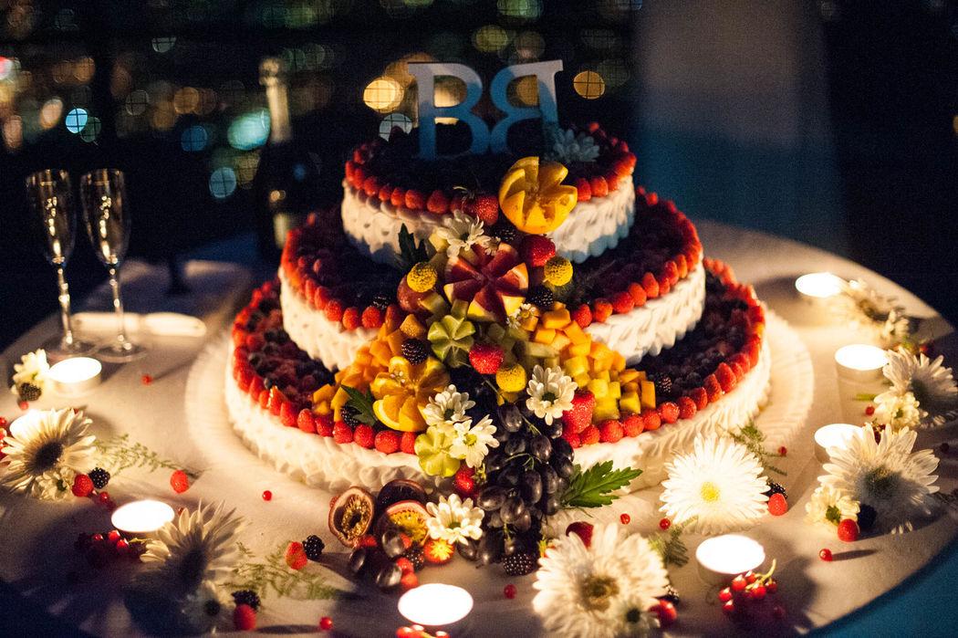 La tua Wedding Cake realizzata apposta per te.