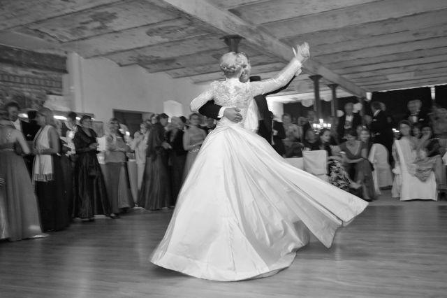 Beispiel: Hochzeitstanz, Foto: Gutshof Wilsickow.