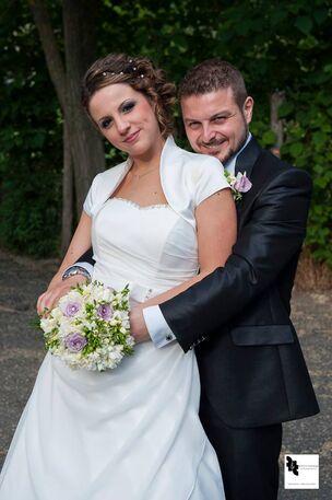 Glamorosa abiti da sposa