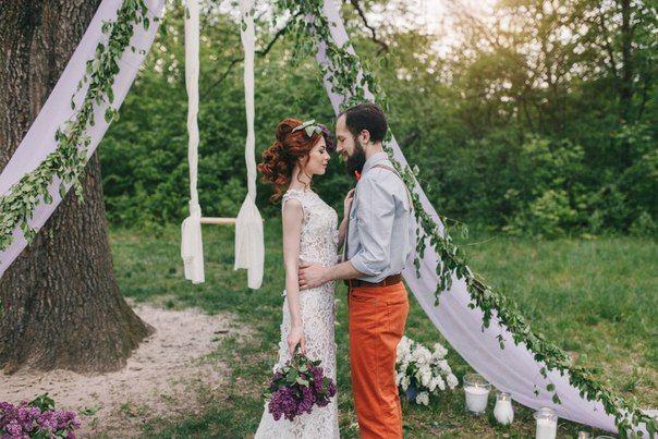 Свадьба Lilac wood