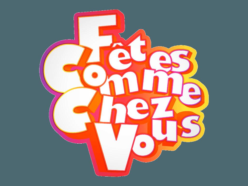 Fêtes Comme Chez Vous - Logo - DJ Paris