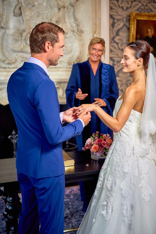 Pulitzer Amsterdam Wedding Ceremony