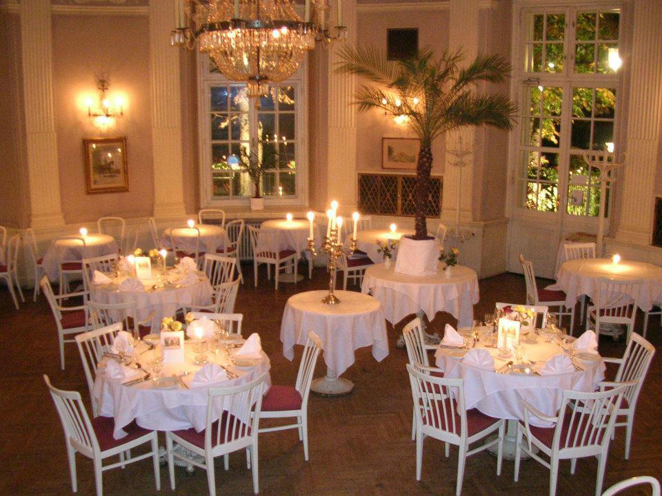Beispiel: Festsaal im Erdgeschoss, Foto: Café-Restaurant Lusthaus.