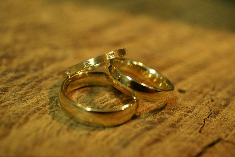 Beispiel: Ringe von Ihrem Goldschmied, Foto: Goldschmiede Piechula.