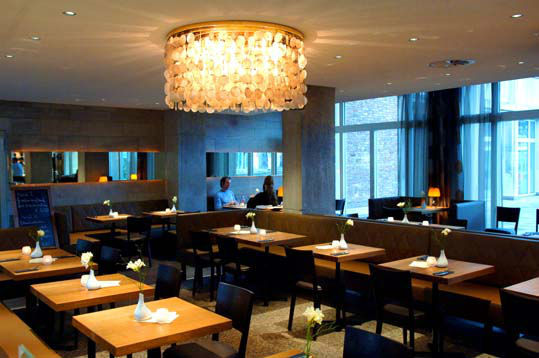 Beispiel: Restaurant - Innenraum, Foto: Consilium.