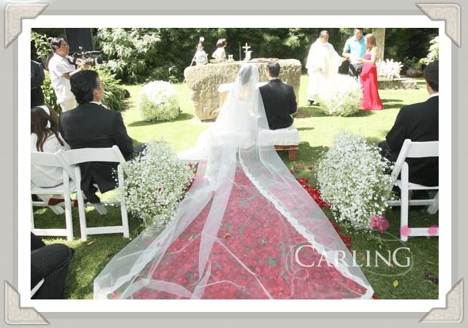 Coordinación, diseño y gestión de bodas en México - Foto Carling