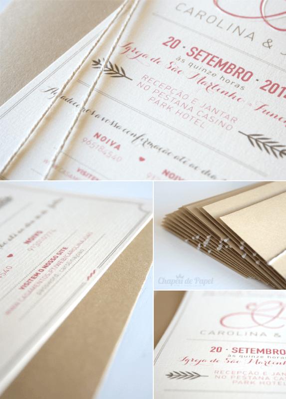 Convites de Casamento Rústicos