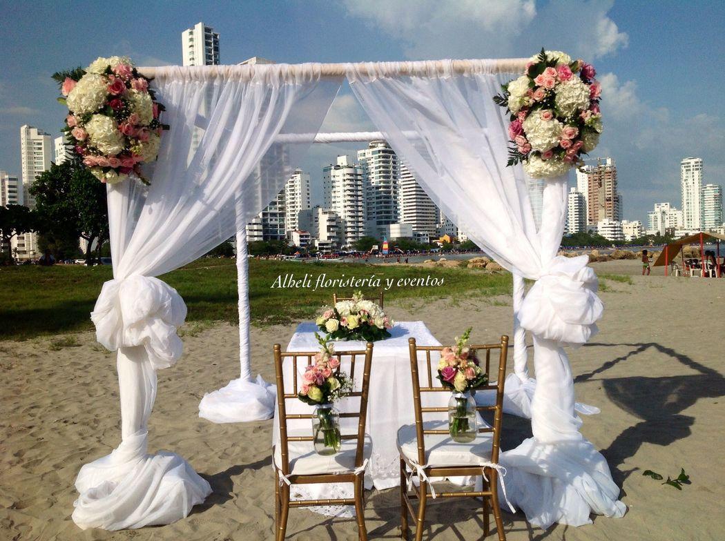 Ceremonias en la playa