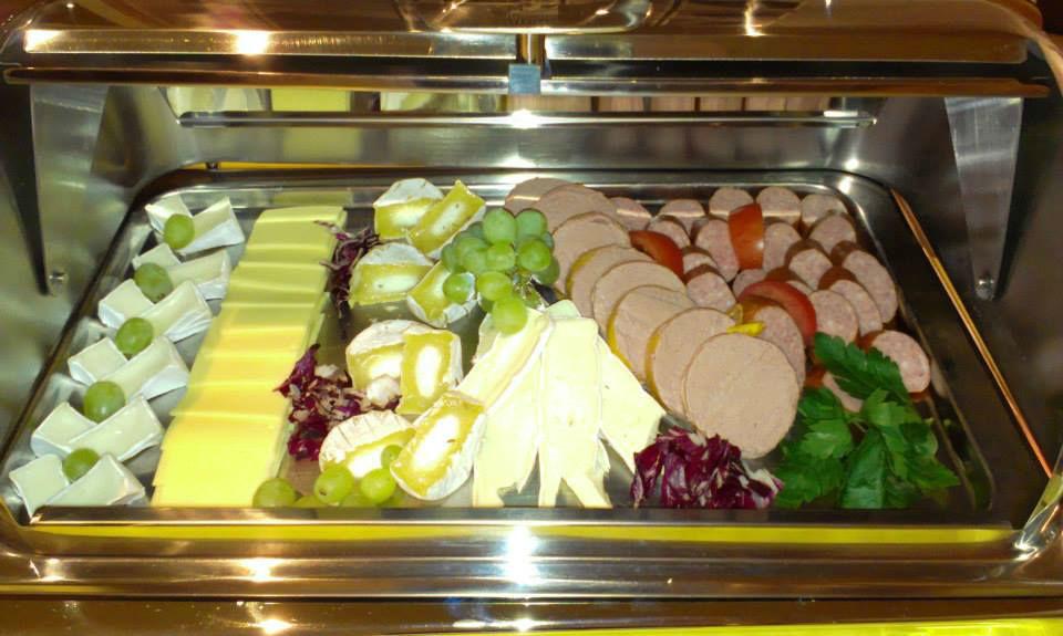 Beispiel: Buffet, Foto: Avecio Café.