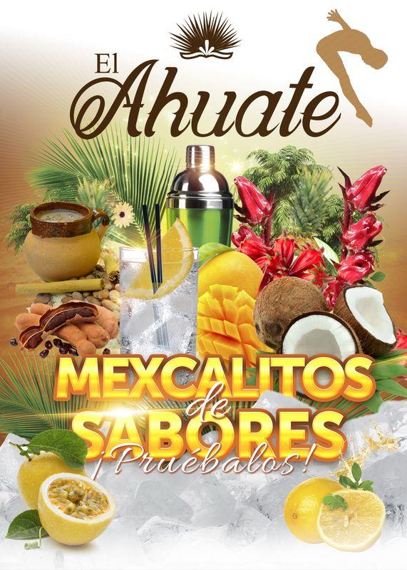 Mexcalitos de Sabores El Ahuate