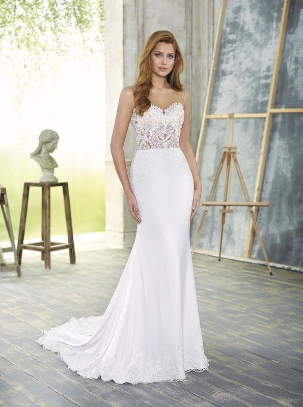 Atelier Silvana - abito sposa sirena con trasparenze