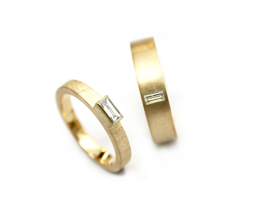Strakke en tijdloze ringen, die je hele leven meegaan.