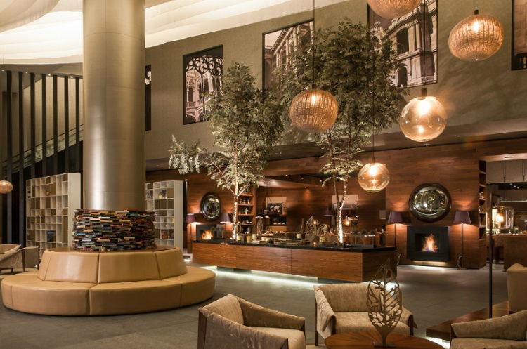 Plenitud y espacios idílicos - Lobby