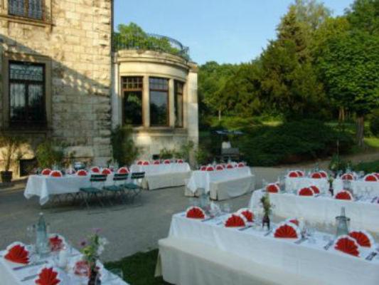 Beispiel: Außenbereich, Foto: Villa Haar.