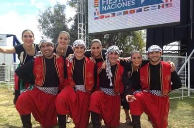 Dabke Grupo de Baile