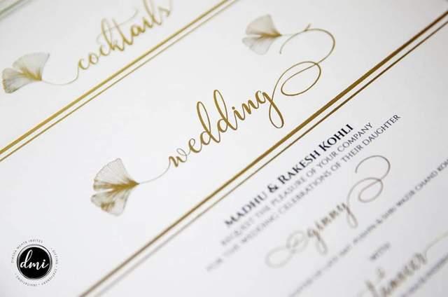 Varda Designer Wedding Invitation Cards Mumbai Maharashtra