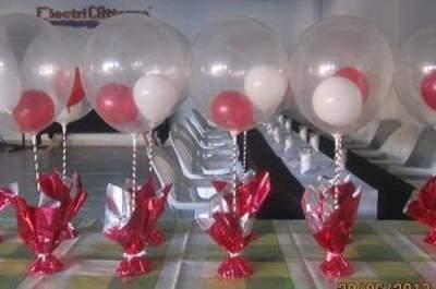 Decoración de globos tessa