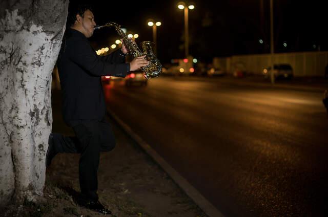 Omar Soto Woods-Saxofonista